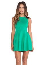 Escapee Dress in Emerald