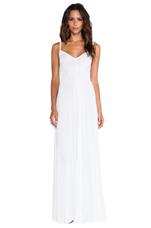 Cami Maxi Dress in White