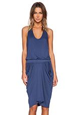 Jemma Razer Dress in Blue Jay