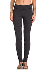 Lycra Jersey Legging in Anthracite