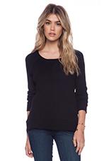 Thermal Milly Sweatshirt in Black