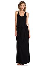 Racerback Dress in Black