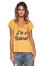 Natural Jovi Tee in Sunflower