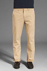 7oz Slim Fit Chino in Khaki