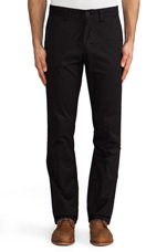 5oz Slim Fit Chino in Black