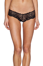 Evi Lace Cheeky in Noir