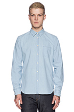 Pocket Shirt in Pale Blue Chambray