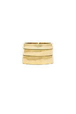 Set of 3 Rings in Gold