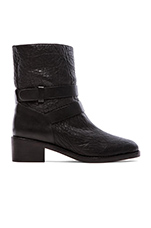 Vesper Boot with Shearling Lining in Black