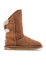 Spartan Knit Short Boot in Chestnut