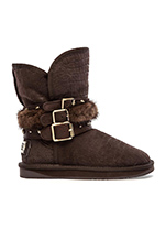 Hatchet Boot in Crocodile Beva