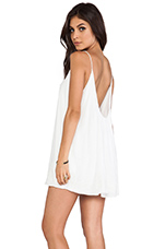 Lovers + Friends Fly Away Mini Dress in White
