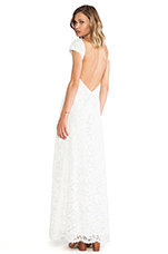 Vanity Fair Dress in White Lace