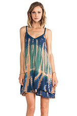 Fade Away Babydoll Dress in Tie Dye