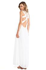 Athena Dress in White