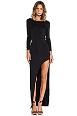 Lovers + Friends Lasting Impressions Dress in Black