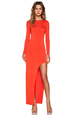 Lasting Impressions Dress in Red Orange