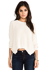 for REVOLVE Taylor Pullover in Ivory