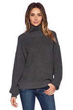 Lovers + Friends Alexa Sweater in Charcoal