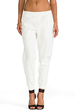Lovers + Friends for REVOLVE Track Pants in White