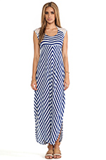 Skyfall Stripe Dress in Navy & White Stripe