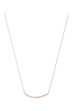 Valle Necklace in Rose Gold