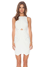 Heaven Sent Mini Dress in White