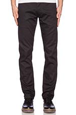 Camden Cotton Pants in Black