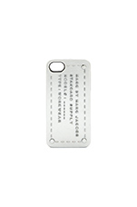Standard Supply iPhone 5 Case in Metallic Silver
