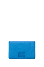 Electro Q Business Card Case in Electric Blue Lemonade