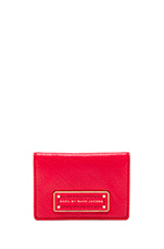 Too Hot to Handle Fold CC Holder in Cambridge Red