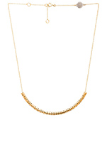 All Tied Up Perf-ection Tube Necklace in Oro