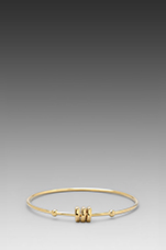 Bolt Tiny Bangle in Oro