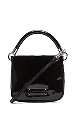 Too Hot to Handle Novelty Hoctor Bag in Black