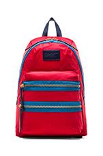 Domo Arigato Packrat in Rosey Red Multi