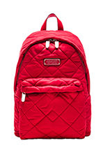 Crosby Quilt Backpack in Rosey Red