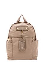 Preppy Nylon Backpack in Cement