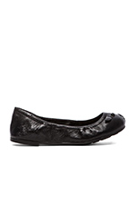 Core Nappa Lamb Mouse Soft Ballerina Flat in Black