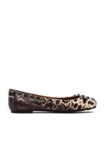 Printed Snake Mouse Flat in Ivory Multi