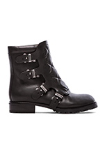 Easy Rider 20mm Flat Ankle Boot in Black