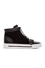 BMX Hi Top Sneakers in Black
