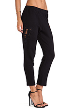 Ace Pant in Black