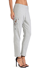 Ace Pant in Marle Grey