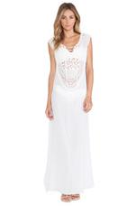 Gisele Maxi Dress in White