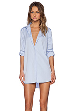 The Oversized Shirt in Blue