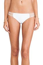 Swimwear Kapalua Multi Skinny String Side Bottom in Foam