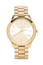 Slim Classic Watch in Gold