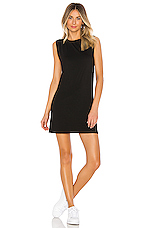 Gilly Sleeveless Dress in Black