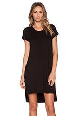 Lucky Side Slit Dress in Black