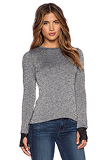 Bennett Sweater in Grey & Black
